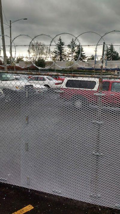 Secure Parking Lot
